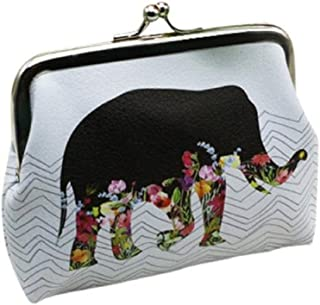 Toraway Wallet, Lady Retro Vintage Small Hasp Coin Purse Wallet PU Leather Clutch Bag