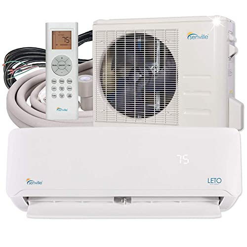 Senville SENL-18CD Mini Split Air Conditioner Heat Pump 18000 BTU