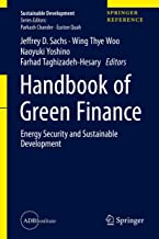 Handbook of Green Finance: Energy Security and Sustainable Development