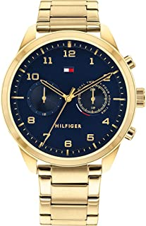 Tommy Hilfiger Men's Analogue Quartz Watch with Stainless Steel Strap 1791783