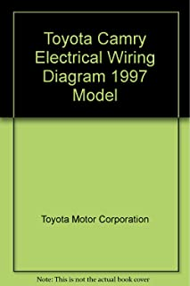 Toyota Camry Electrical Wiring Diagram 1997 Model