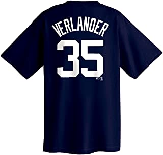 Justin Verlander Detroit Tigers Youth Name and Number T-Shirt,ATHLETIC NAVY