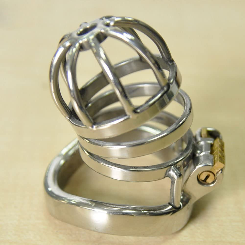 Phoenix Mall Cock Free shipping anywhere in the nation Cage New Male Chastity Device Stainless L Metal Steel Penis