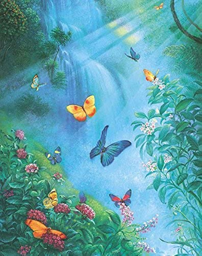 Butterflies in the Mist 1000Pc by SunsOut