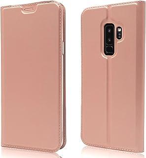1298ef57391 NALIA Funda Flip-Case Compatible con Samsung Galaxy S9 Plus, Carcasa con  Tapa Book