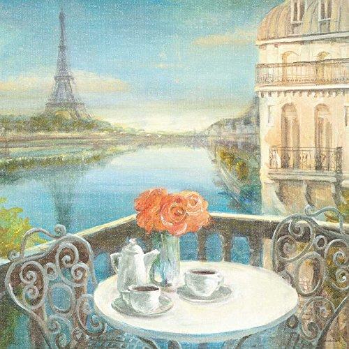 Feeling at home IMPRESION-sur-Papier-Morning-on-The-Crop-Seine-NAI-Danhui-Paysage-Urbain-Affiche-roulée-Fine-Art- pour-cadre-Poster-pour-décoration-murale-dimensions-60_X_60_cm