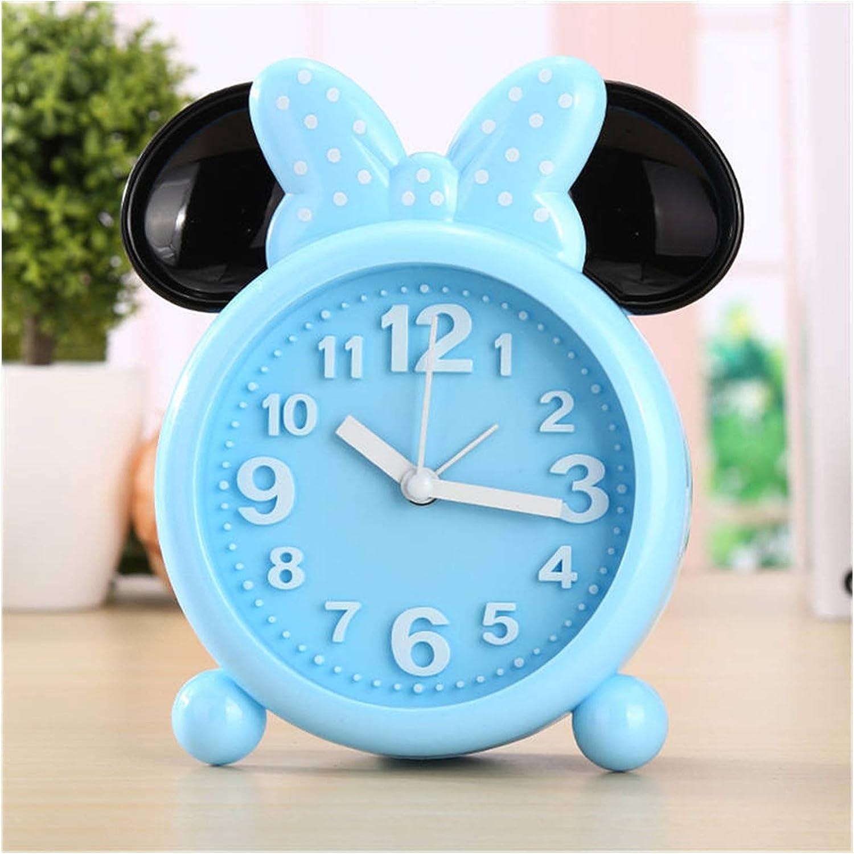 JUNQIAOMY Alarm Clock Las Vegas Mall Creative Mesa Mall Kids Student Bedside Girl Ala Boy