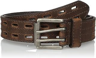Nocona Men's Hired Brown Double-Hole Belt