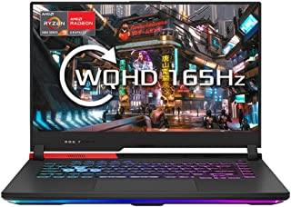 "ASUS ROG Strix G513QY 15.6"" WQHD 165Hz Gaming Laptop (AMD Ryzen 9 5900HX, AMDRadeonRX 6800M 12GB Graphics, 16GB RAM (2x ..."