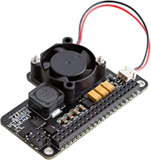 UCTRONICS for Raspberry Pi 4 PoE HAT with Cooling Fan, Mini Power Over Ethernet Expansion Board for Raspberry Pi 4 B, 3 B+...
