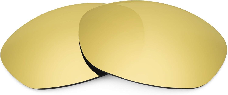 Revant Verres de Rechange pour Oakley Fives 2.0 - Compatibles avec les Lunettes de Soleil Oakley Fives 2.0 Or Mirrorshield - Polarisés