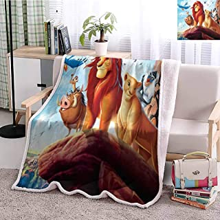 Yloveme Baby Small Fleece Blanket Throw The Lion King 2019 Double-Sided Super Soft Plush Blanket Throw 47x60 inches