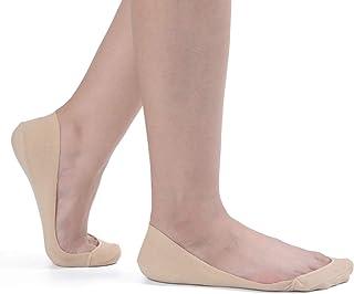 Flammi Women's TRULY No Show Socks for Flats Non Slip...