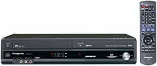 Panasonic DMR-EZ47V Up-Converting 1080p DVD-Recorder/VCR Combo with Built In Tuner (2005 Model)