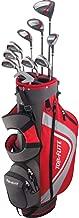 Top Flite Complete Golf Club Set Mens 2018 Red XL w/ 6-Way Stand Bag Regular Flex - Right Hand