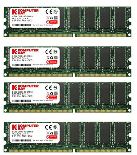 KB_Master_DDR_Samsung 4 GB (4X 1 GB) PC3200