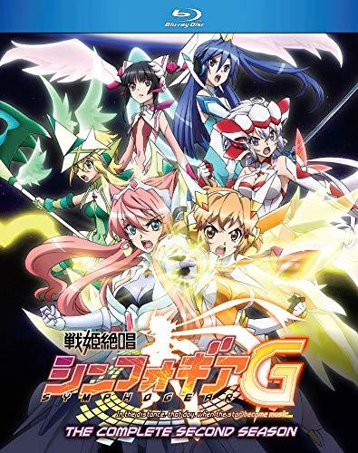 北米版 戦姫絶唱シンフォギアG(第2期) 全13話BOXセット Blu-ray
