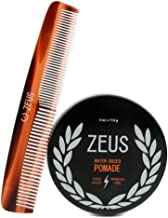 ZEUS Pomade and Comb Hair Care Set
