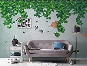Wallpaper 3D Wall Vine Plant Green Modern Decoration Home Bedroom Box Decoration Salon 3D Behang Slaapkamer Decoratie Muur...