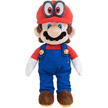 "Little Buddy 1693 Super Mario with Removable Red Cappy Hat (Odyssey Style) 13"" Plush"
