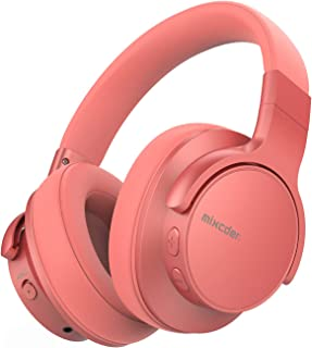 Mixcder E7 ANC Noise Cancelling Headphones Bluetooth 5.0 Over Ear Headphone with Hi-Fi Stereo, Quick Charge, 30 Hours Play...