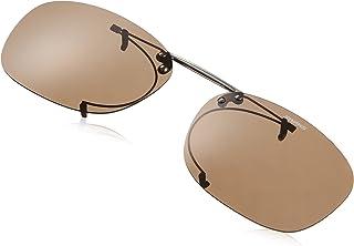 【石川遼プロ愛用ブランド】SWANS(スワンズ) 偏光 サングラス メガネにつける クリップオン 跳ね上げタイプ SCP-2