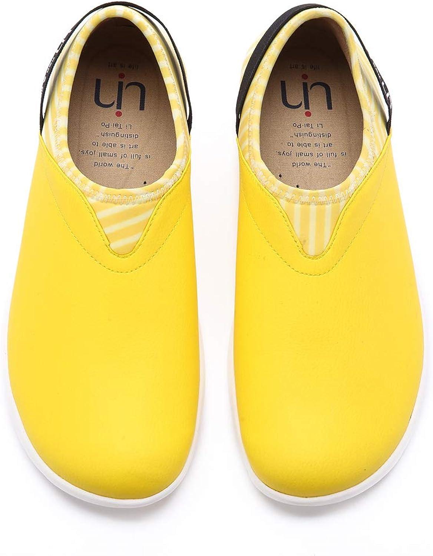 UIN Men's Verona Comfort Microfiber Fashion shoes Yellow