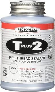 Rectorseal 23631 1/4 Pint Brush Top T Plus 2Pipe Thread Sealant (Renewed)