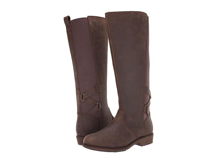 Teva  Ellery Tall Waterproof (Bison) Womens Shoes
