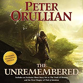The Unremembered audiobook cover art