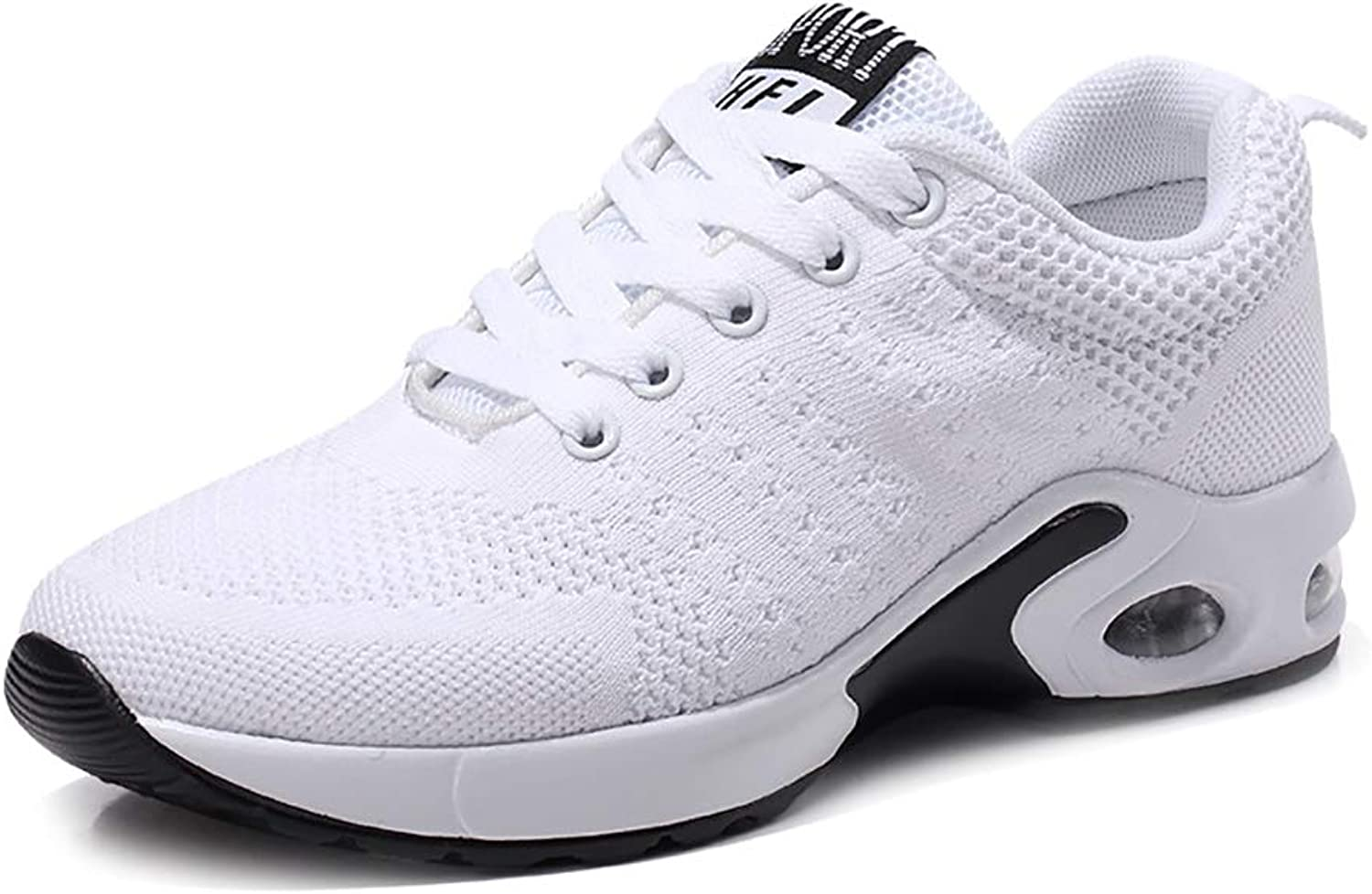 Mzq-yq Sports shoes Men's Running shoes Men's shoes, Breathable White Couple shoes Fashion Student Tide Classic Wild