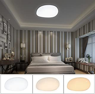 Vingo Plafonnier LED Pour Chambre, Chambre Du0027Enfants, Couloir 50W  Farbwechsel Rund [