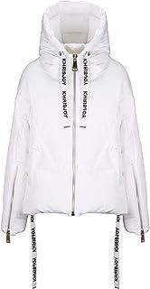 KHRISJOY Luxury Fashion Womens AFPW001NYWH03 White Down Jacket | Fall Winter 19