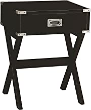 Acme Furniture 82822 Babs End Table, Black, One Size