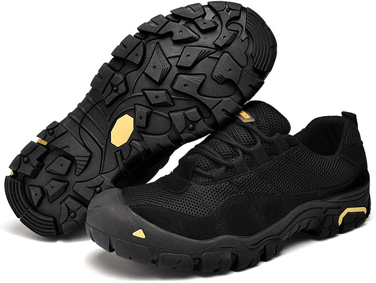 Haiyao Sports Men's shoes, shoes, Outdoor Hiking shoes, Non-Slip Wearable Walking shoes, Breathable Mesh