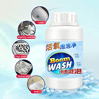 Oxygen Particles Foam Cleaner Toilet Bowl Cleaner Boom Wash,Magic Bubble Foam Cleaner for Strong Cleaning/Dredge/Deodorization, Foam Detergent