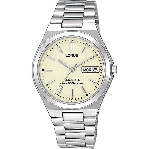 Lorus Gents Watch, Lumibrite Dial 100m Water Resistance RXN31BX9
