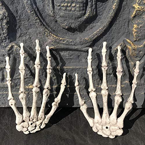 Esqueleto calavera garra mano hueso travieso Halloween carnaval Accesorios Decoraciones Estacionales Decoración del hogar Fiesta