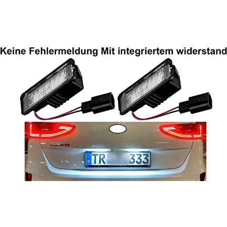 Led Kennzeichenbeleuchtung Nummernschildbeleuchtung 2601 Auto