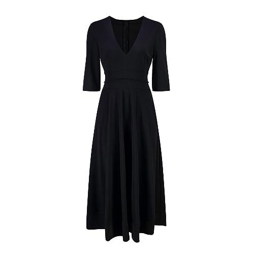winterkleider schwarz gr 46