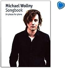 Michael Wollny Songbook: 24 piezas para piano – con colorido clip en forma de corazón