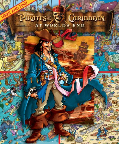 Pirates of the Caribbean at World's End: Look and Find