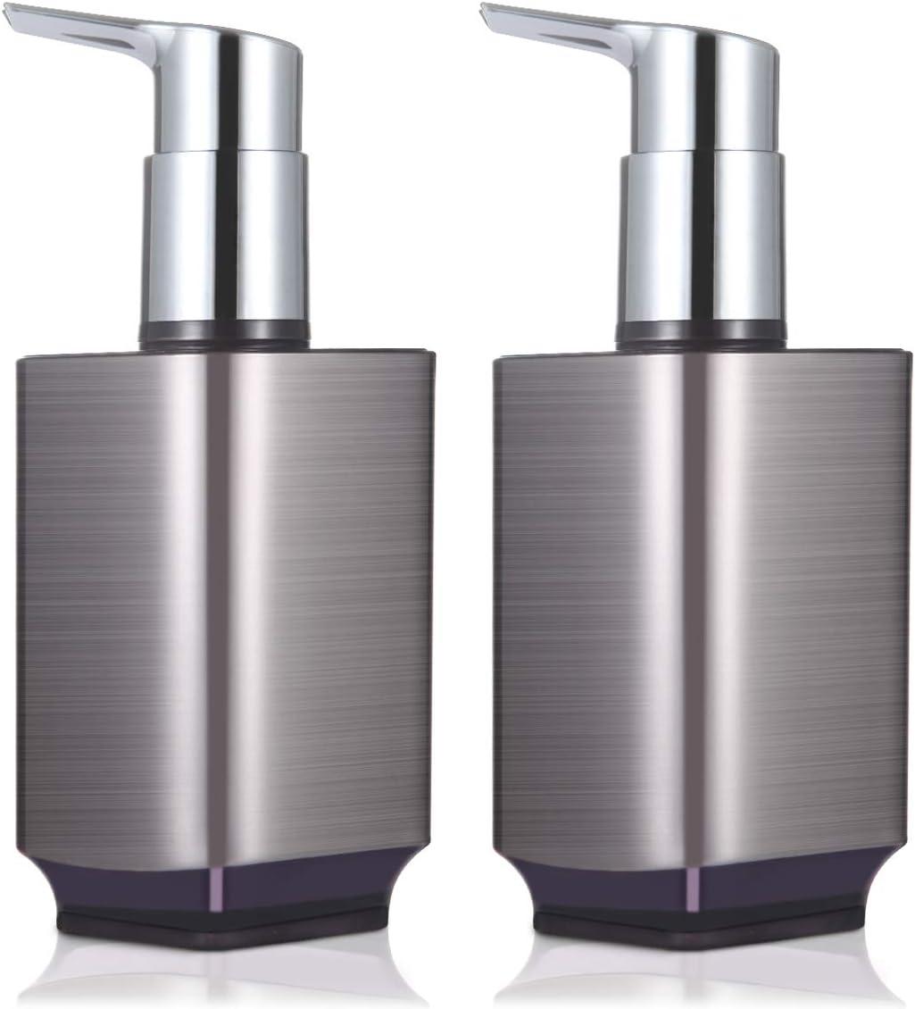 Boperzi Soap Dispenser Max 40% OFF 2 Pack Liquid Refillable Hand Al sold out. Proof Rust