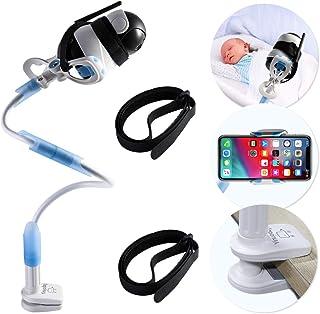 Soporte universal para cámara de bebé soporte para monitor de vídeo para niños pequeños y estante soporte flexible ajustable para cámara de bebé compatible con la mayoría de monitores de bebé