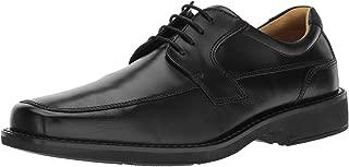 Men's Seattle Apron Toe Tie Oxford, Black/Black, 42...