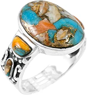 boho gemstone rings