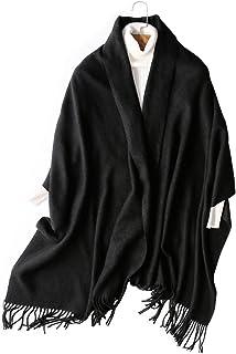 [マイクイーン]maikun マフラー レディース ストール 大判 ウール カシミヤ マフラー ストール レディース 大判ストール 結婚式 ストール 厚手 学生 無地 ペア 誕生日 敬老日 プレゼント