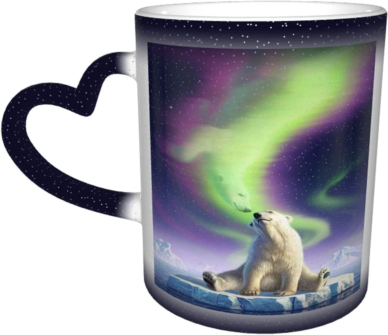 Universal Max 52% OFF Ceramic Heat Sensitive Color Changing Large special price Cup Coffee Cups