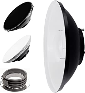 PIXAPRO 42cm 16 5  White Beauty Dish for Profoto with Removable Honeyc...