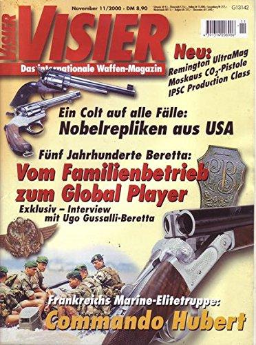 Visier Nr. 11/2000 Ein Colt auf alle Fälle: Nobelrepliken aus USA